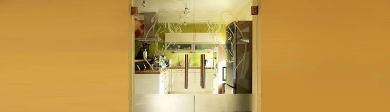 glaspendelt ren max glas ganzglast ren glasschiebet ren k chenr ckw nde aus glas und vieles. Black Bedroom Furniture Sets. Home Design Ideas