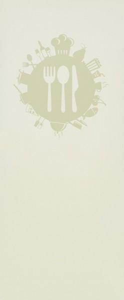 """Glaseinsatz Motiv """"Foodplanet"""""""