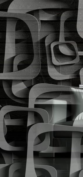 ESG 4mm Klarglas / Satinato Laser-Motiv MG 4.2124 Glaseinsatz