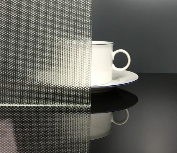 ESG 4mm Masterpoint weiß Glaseinsatz