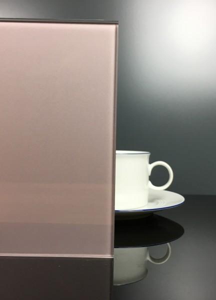 Küchenrückwand Metal Taupe klar F