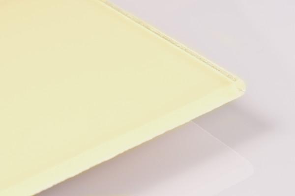Glas Spritzschutz Lacobel 6mm farbig