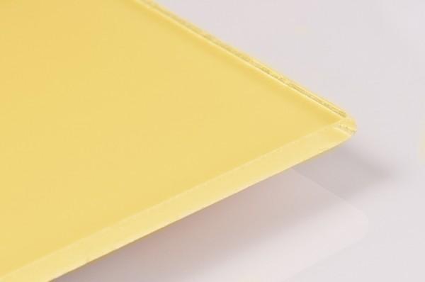 ESG klar lackiert 6mm als Wandverkleidung