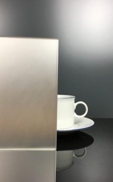 Küchenrückwand Silber matt F