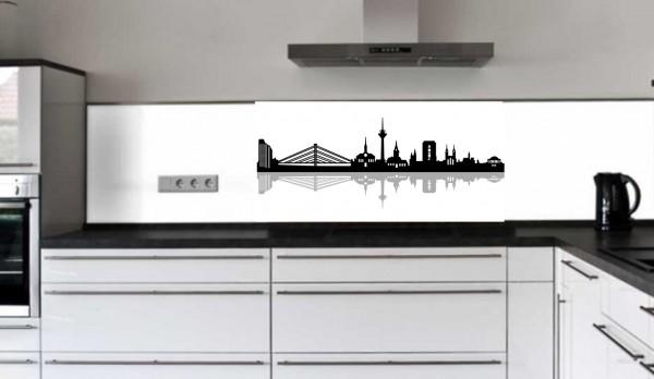 """Rückwand Glasbild """"Skyline"""" F"""