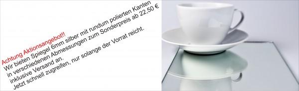 Spiegel 6mm silber Standard