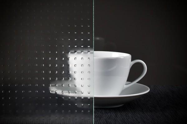 Glaseinsatz Mastercarre weiß