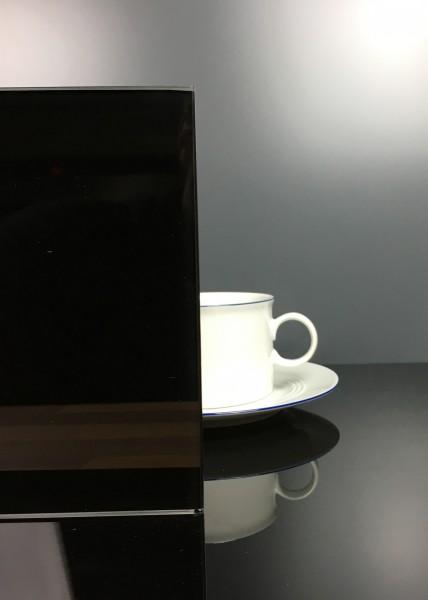 Rückwand Classic Black 9005 matt E