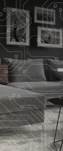 ESG 4mm Klarglas / Satinato Laser-Motiv MG 3.2089 Glaseinsatz