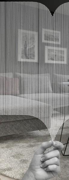 ESG 4mm Klarglas / Satinato Laser-Motiv MG 2.2037 Glaseinsatz