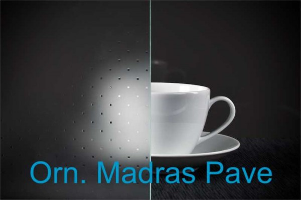 Glastür Madras Pave