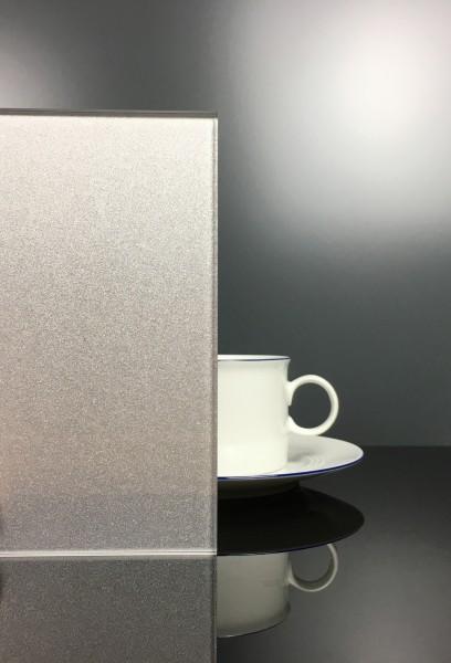 Küchenrückwand RAL 9007 Graualuminium klar E