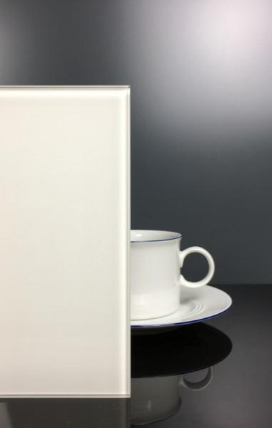 Rückwand Pure White 9003 klar F